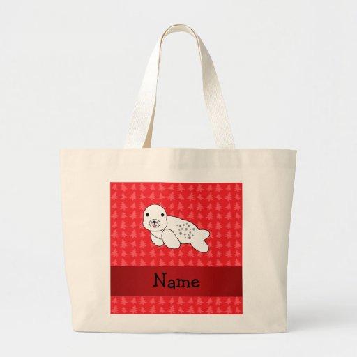 Árboles de navidad conocidos personalizados del ro bolsas de mano