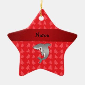 Árboles de navidad conocidos personalizados del ro ornamentos para reyes magos