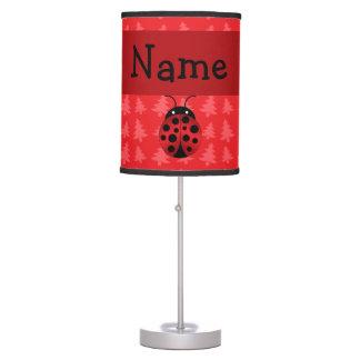 Árboles de navidad conocidos personalizados del ro lámpara de escritorio