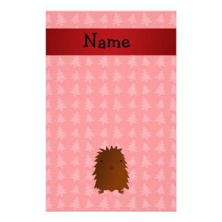 Árboles de navidad conocidos personalizados del ro papelería personalizada