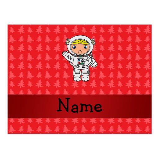 Árboles de navidad conocidos personalizados del ro tarjetas postales