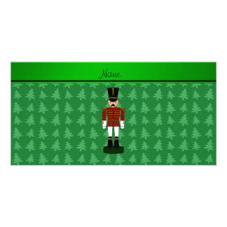 Árboles de navidad conocidos personalizados del tarjetas fotográficas personalizadas