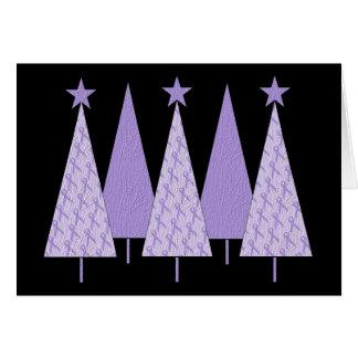 Árboles de navidad - general Cancer de la cinta de Felicitación
