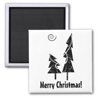 Árboles de navidad iman de frigorífico