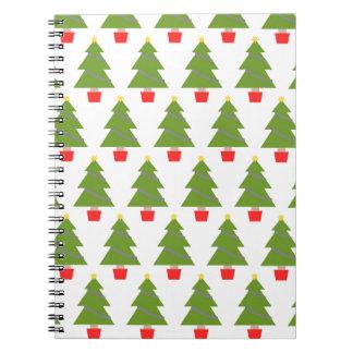 Árboles de navidad libro de apuntes