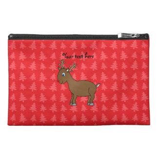 Árboles de navidad lindos del rojo del reno