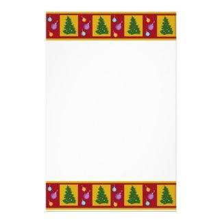 Árboles de navidad papeleria personalizada