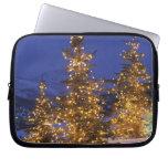 Árboles de navidad, Park City, montañas de Wastch, Funda Ordendadores