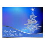 árboles de navidad postales