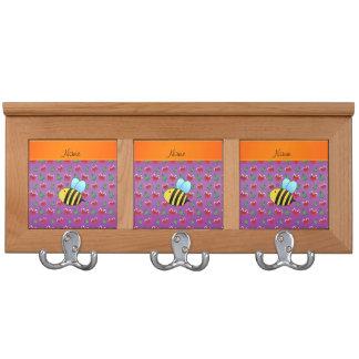 Árboles de navidad púrpuras de los bastones de