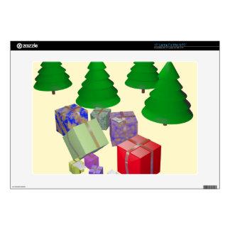 Árboles de Navidad Skins Para 38,1cm Portátil