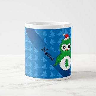 Árboles de navidad verdes conocidos de encargo del taza extra grande