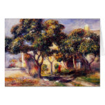 Árboles de níspero, Cagnes Tarjetas