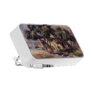 Árboles de níspero de Pedro-Auguste Renoir-, Cagne Altavoz De Viajar