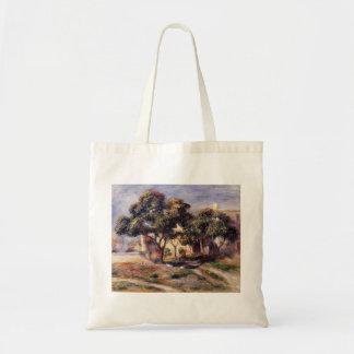 Árboles de níspero de Pedro-Auguste Renoir-, Cagne Bolsa De Mano