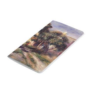 Árboles de níspero de Pedro-Auguste Renoir-, Cagne Cuadernos