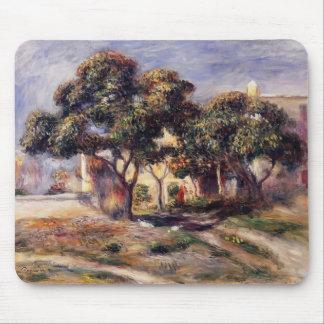 Árboles de níspero de Pedro-Auguste Renoir-, Cagne Mouse Pad