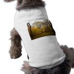 Árboles de olmo del otoño en el Central Park, New  Camisa De Mascota
