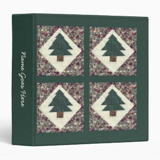 """Árboles de pino acolchados carpeta 1 1/2"""""""
