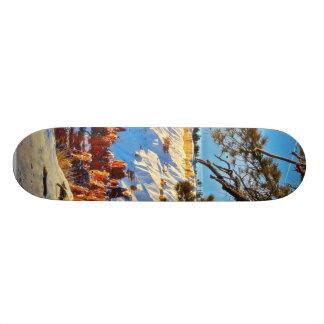 Árboles de pino de la nieve del invierno del barra patín personalizado