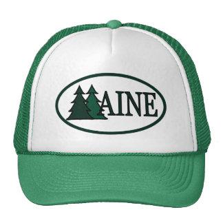 Árboles de pino de Maine II Gorras De Camionero
