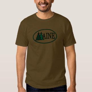 Árboles de pino de Maine II Remera