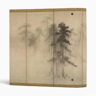 "Árboles de pino por el siglo XVI de Hasegawa Tohak Carpeta 1"""