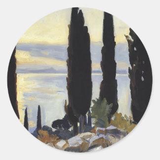 Árboles de Sargent- Cypress del cantante de Juan Pegatina Redonda