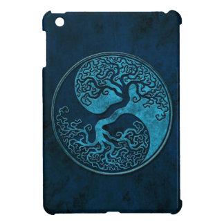 Árboles de Yin Yang de la piedra azul iPad Mini Protector