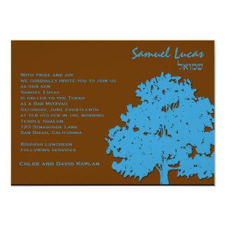 Árboles del azul de Samuel Lucas de la invitación
