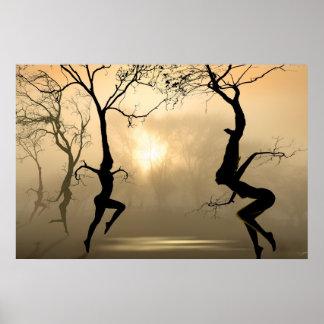 Árboles del baile posters