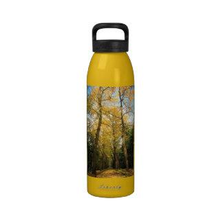 Árboles del biloba del Ginkgo Botella De Agua Reutilizable