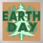 Árboles del Día de la Tierra Impresiones