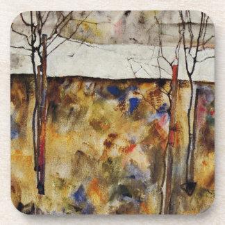 Árboles del invierno posavasos