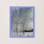Árboles del invierno puzzles con fotos