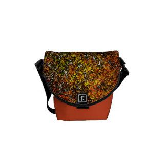Árboles del otoño bolsa de mensajería