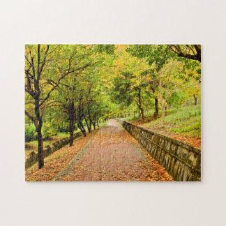 Árboles del otoño puzzles con fotos