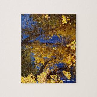 Árboles del otoño - rompecabezas