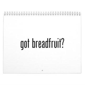 árboles del pan conseguidos calendarios de pared