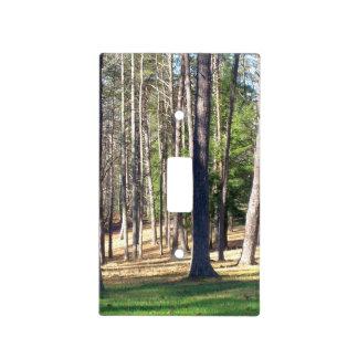 Árboles del parque tapas para interruptores