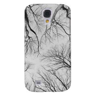 Árboles deshojados en la madera de Thiepval Funda Para Galaxy S4