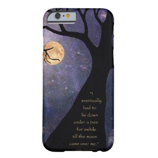 Árboles desnudos de la Luna Llena Funda De iPhone 6 Barely There