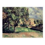 Árboles en un parque, Jas de Bouffan, 1885-87 Postales