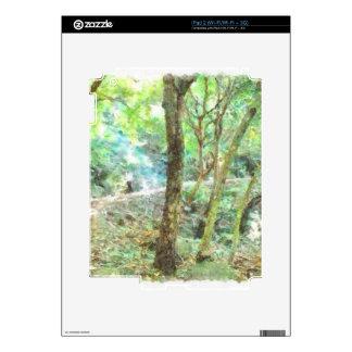 Árboles en una selva iPad 2 skins