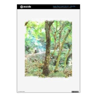 Árboles en una selva iPad 3 pegatina skin