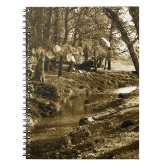 Árboles en Yorkshire Libretas