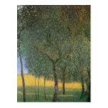 Árboles frutales - Gustavo Klimt Tarjetas Postales