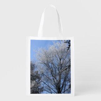 árboles helados bolsa para la compra