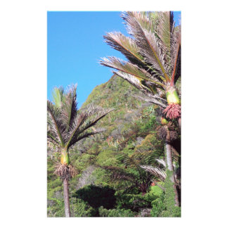 Árboles icónicos de Nueva Zelanda de las palmas de Personalized Stationery