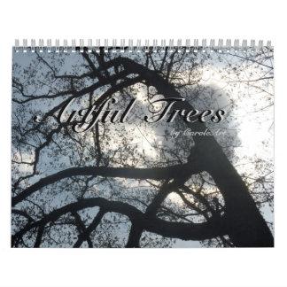 Árboles ingeniosos calendario